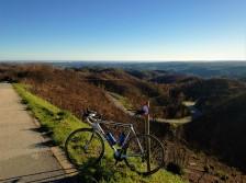 Auf dem Heimweg einer 175-km-Tour...